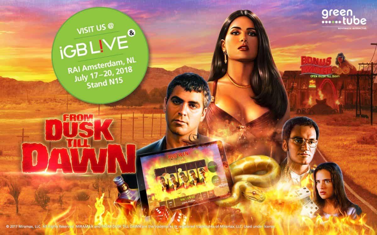 Greentube presents From Dusk Till Dawn™ at inaugural iGB Live!