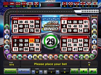 Autodromo Bingo™
