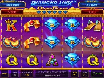 Diamond Link™: Oasis Riches