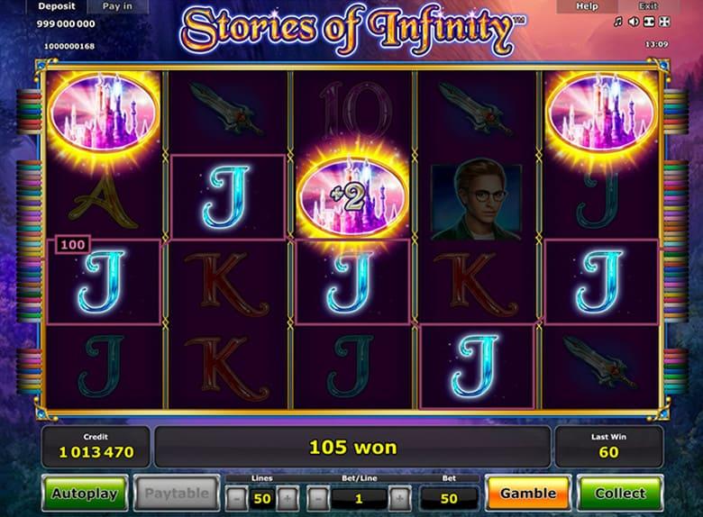 Spiele Stories Of Infinity - Video Slots Online