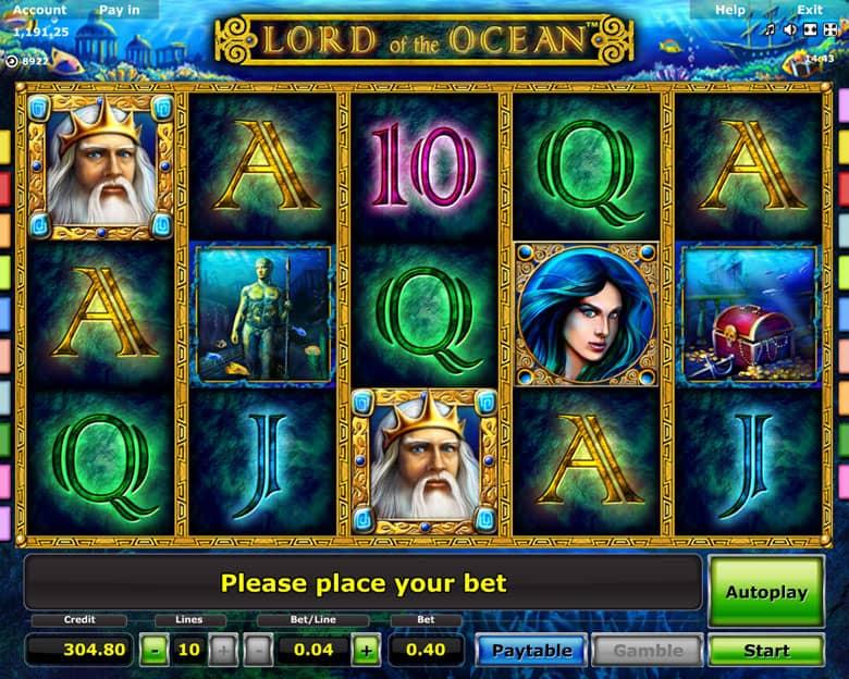 Slot Game Lord Of Ocean