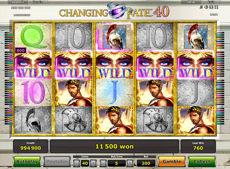 Spiele Changing Fate 40 - Video Slots Online