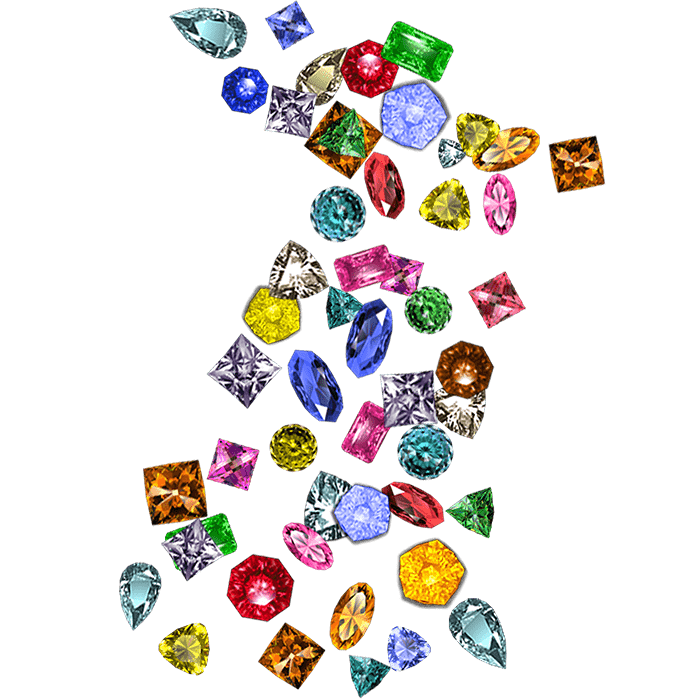 Gems Wild-Tiles™