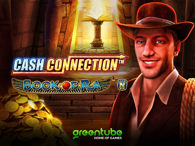 An Egyptian adventure awaits players in Cash Connection™ – Book of Ra™