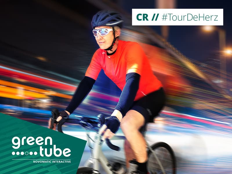 Strong legs, full hearts, can't lose: #TourdeHerz!
