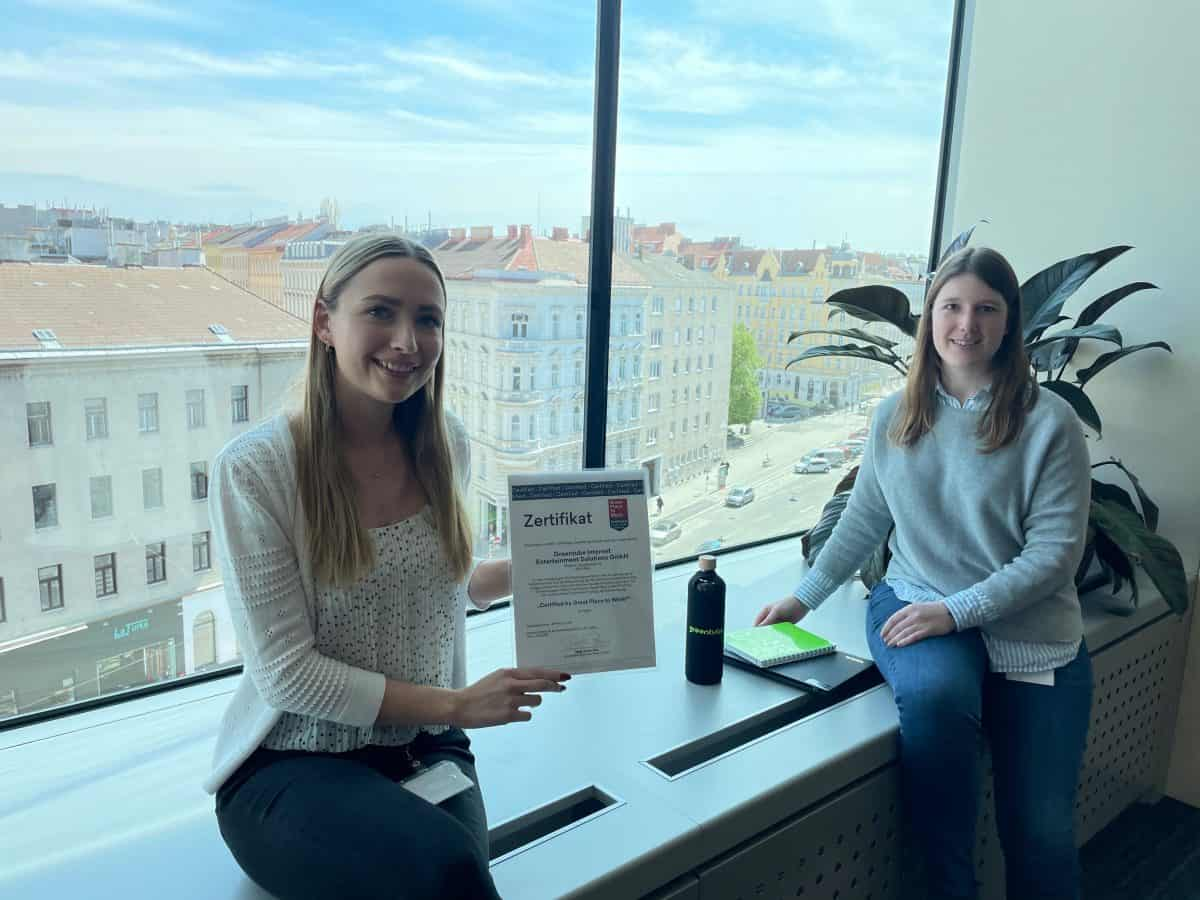 Greentube awarded Great Place to Work® certification