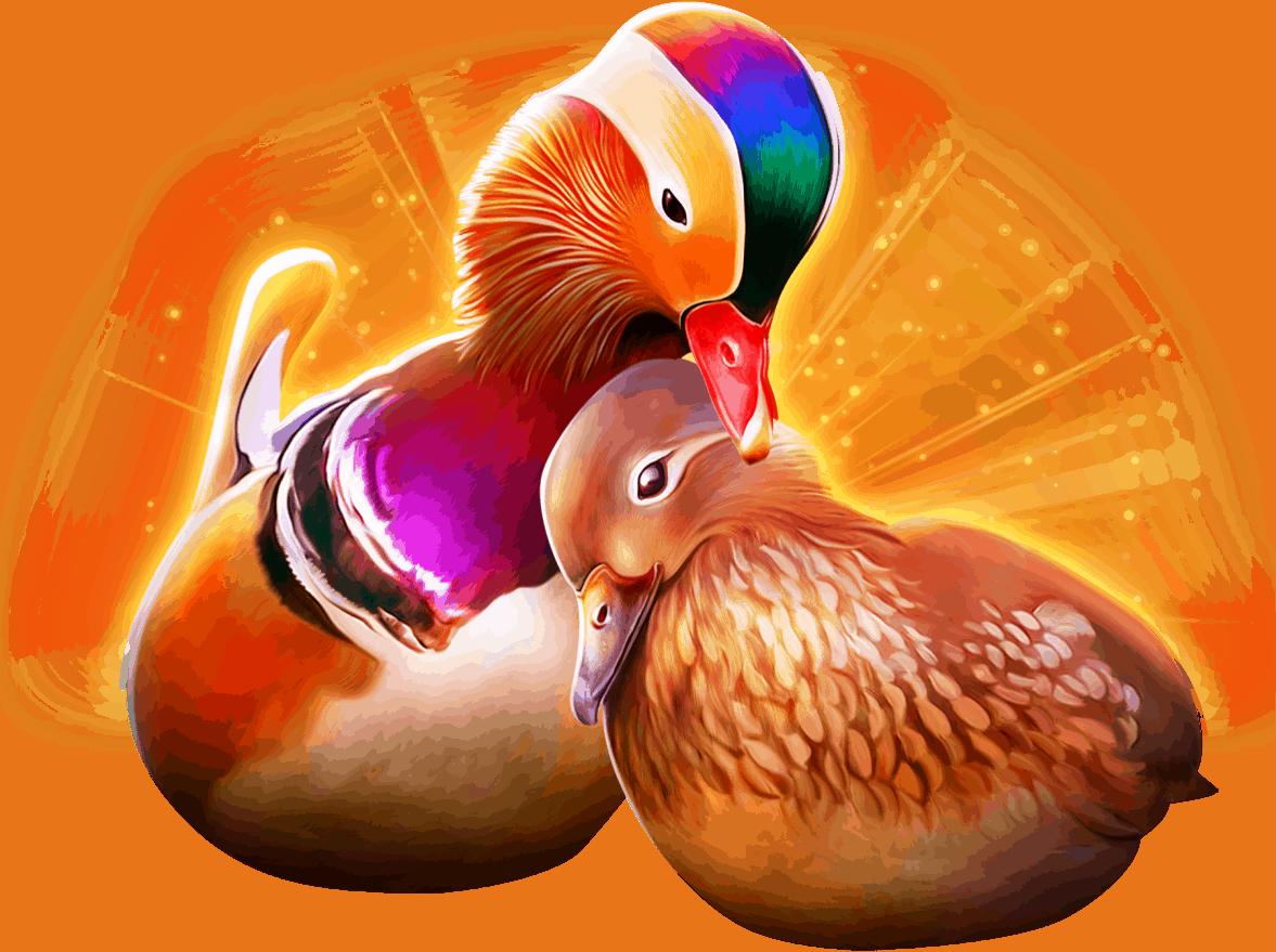 POWER PRIZES™ – Eternal Mandarin Ducks™